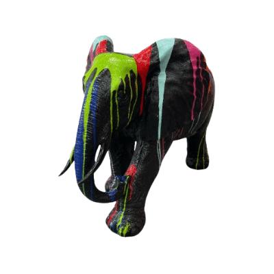 Statue Elephant en Résine
